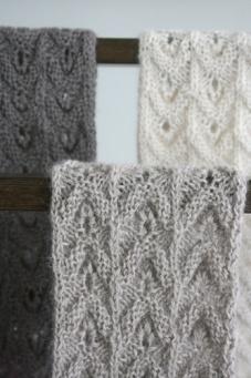 Vintage Knit Scarf