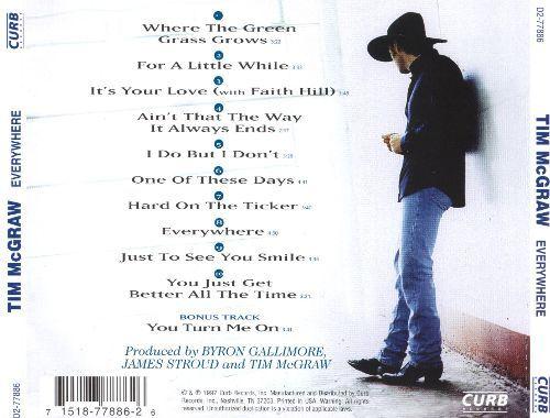 tim mcgraw cd   Everywhere - Tim McGraw   Songs, Reviews, Credits   AllMusic
