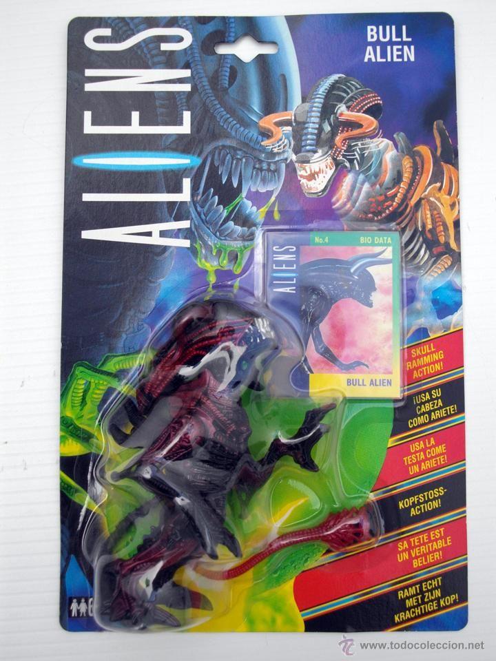 FIGURA ALIENS BULL ALIEN EN BLISTER NUEVO KENNER AÑO 1992 ALIEN (Juguetes - Figuras de Acción - Otras Figuras de Acción)
