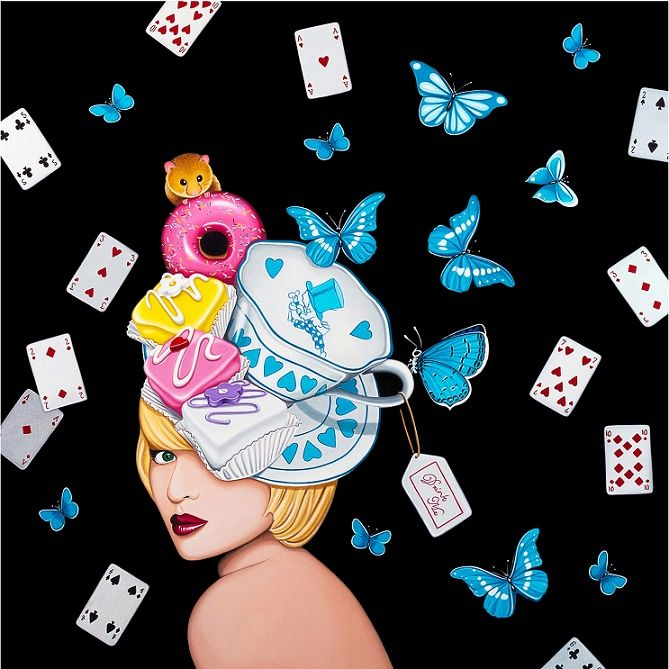 A Fancy Tea With Alice |  (SOLD) Limited Edition of  95 and 10 Artist Proofs