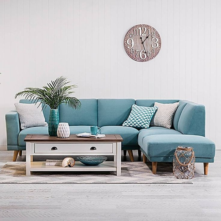 Comfort, style and only $1199.95. Our new Tobin fabric 3 Seater Sofa with Chaise ticks the right boxes. Also available in mustard…