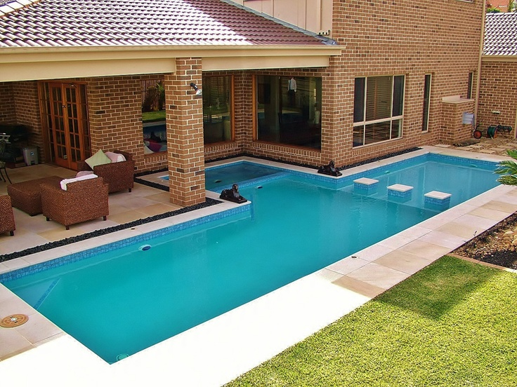 Pools On Pinterest Swimming Pool Construction Swimming Pool Designs