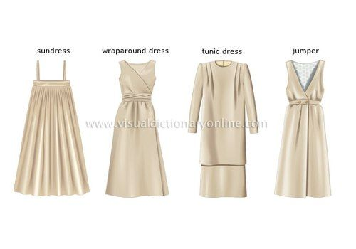 Sundress là tên gọi không phổ biến lắm, nó chỉ những chiếc váy suông xếp ly xòe như tia nắng mặt trời. Wraparound