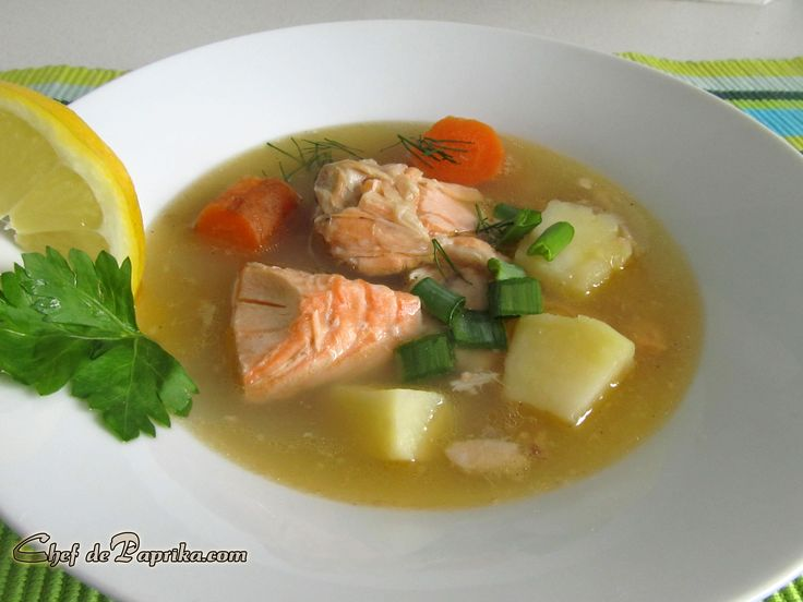 Ukha - Russian Salmon Soup Recipe