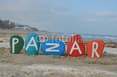 Pazar, sunday in turkish language
