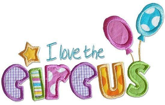 Circus Applique Embroidery Designs