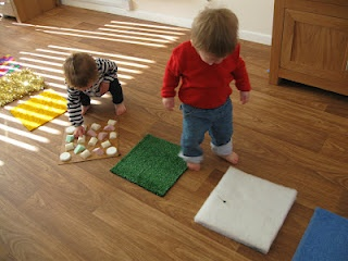 DIY sensory mats - Re-pinned by @PediaStaff – Please Visit ht.ly/63sNt for all our pediatric therapy pins