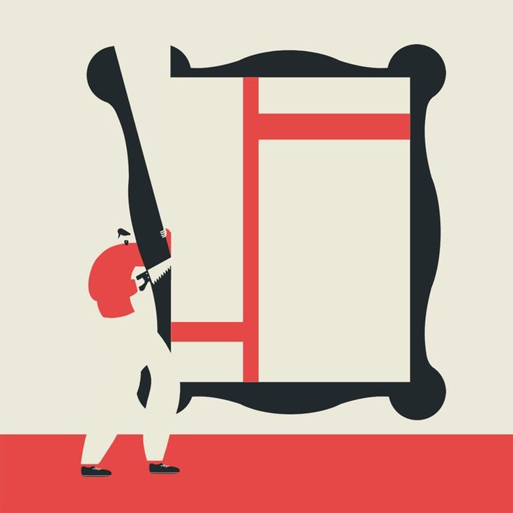 38 best magoz illustrations images on pinterest for Minimal art vzla