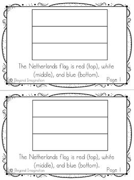 Netherlands Country Study | 48 Pages for Differentiated Learning + Bonus Pages #Netherlands #country #study #teacherspayteachers #TPT #passport #resource #idea #teacher #postcard