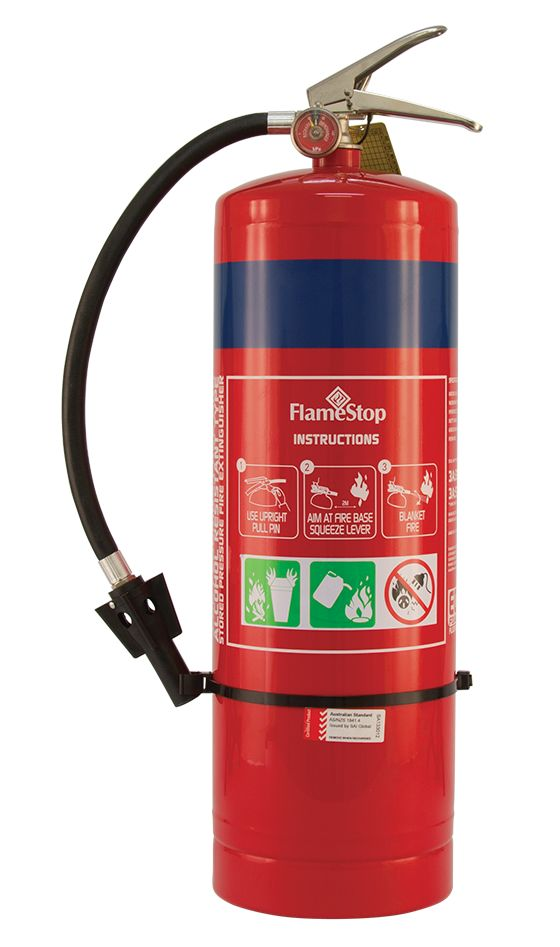 9.0lt AFFF, ATC (alcohol resistant) and Fluoirine Free range of Foam Extinguishers