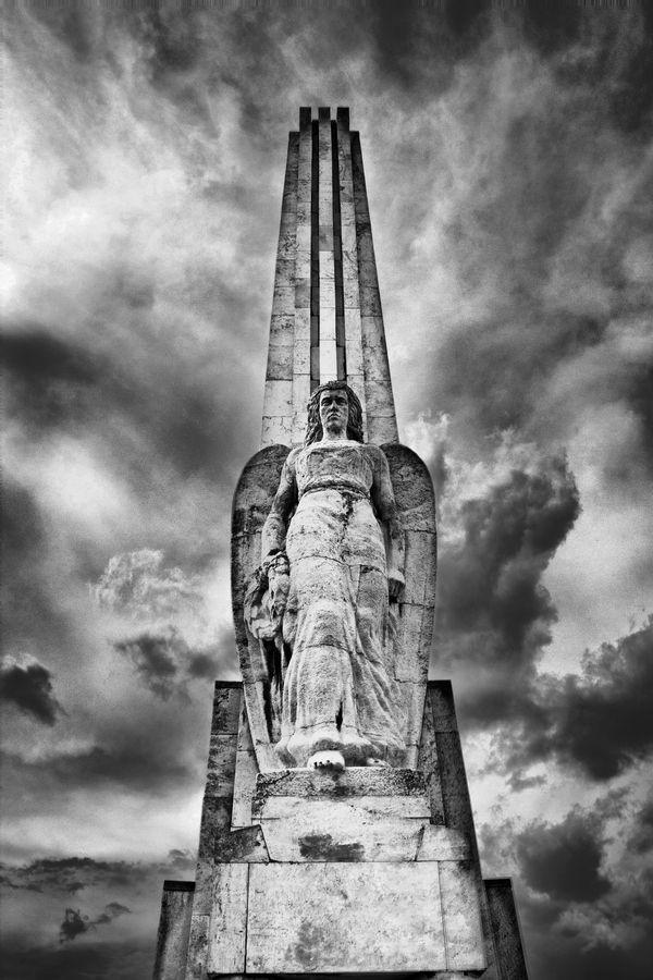 """Horea, Closca si Crisan"" Obelisk in Alba Iulia, Romania"