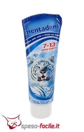 € 1,97 MENTADENT DENTIFRICIO BIMBI 7-13 ANNI 75ML Il dentifricio #Mentadent 7-13 Anni bimbi è un dentifricio a base di fluoro che rende lo smalto più forte e resistente contro la carie. Ha inoltre un de...