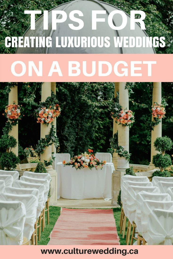 Tips for Creating Luxurious Wedding Decor on a Budget