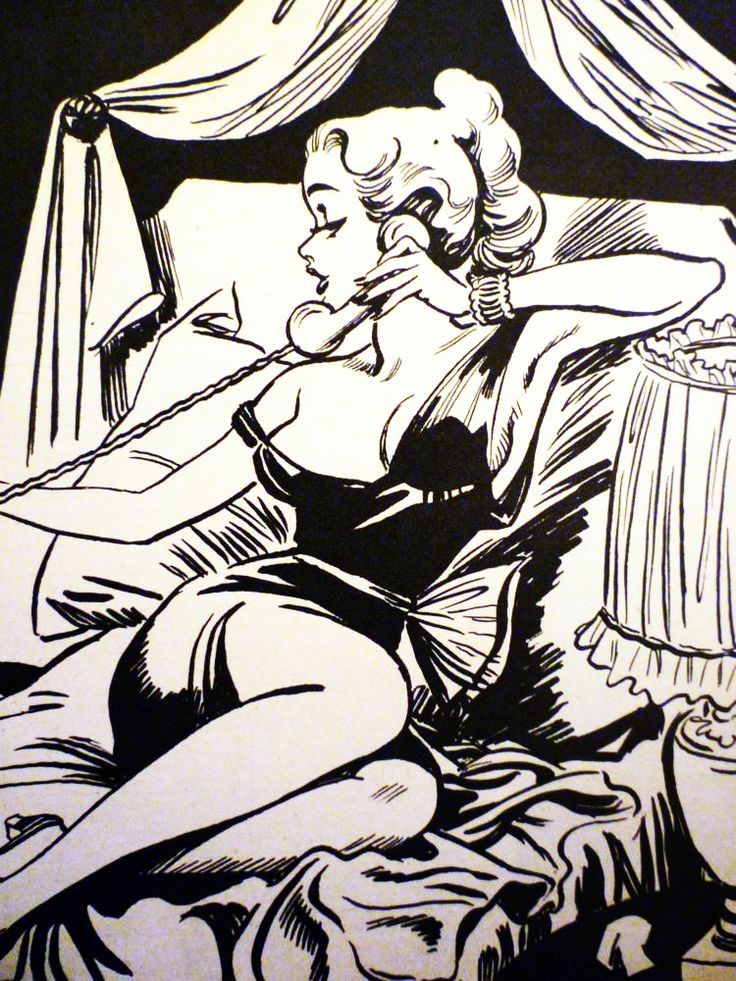 vintagegal:    Pin-up art by Arthur Ferrier 1940's