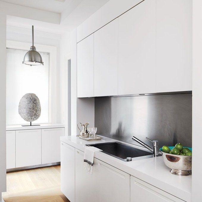 Modern Kitchen Backsplash Ideas: Best 25+ Stainless Backsplash Ideas On Pinterest
