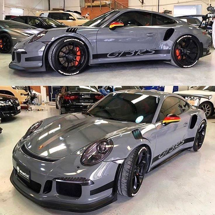Nicely done GT3RS done by wrapstyle_qatar