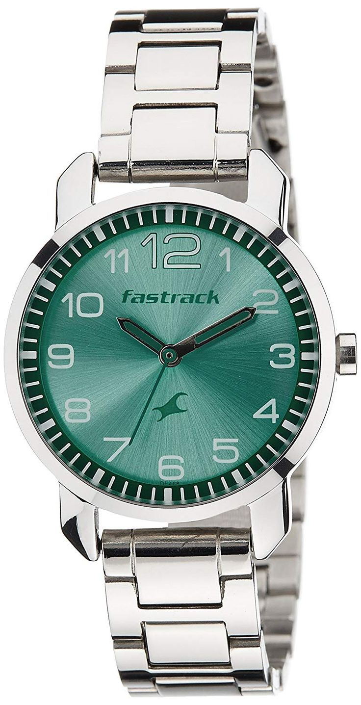 Fastrack Analog Green Dial Women's Watch NK6111SM02 RS