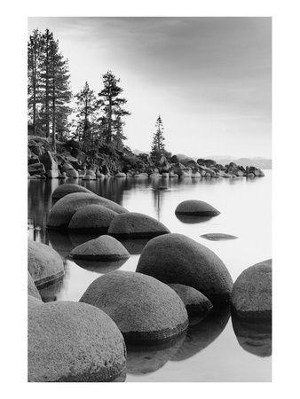 Paysages naturels (photographies noir et blanc) Tableau sur AllPosters.fr
