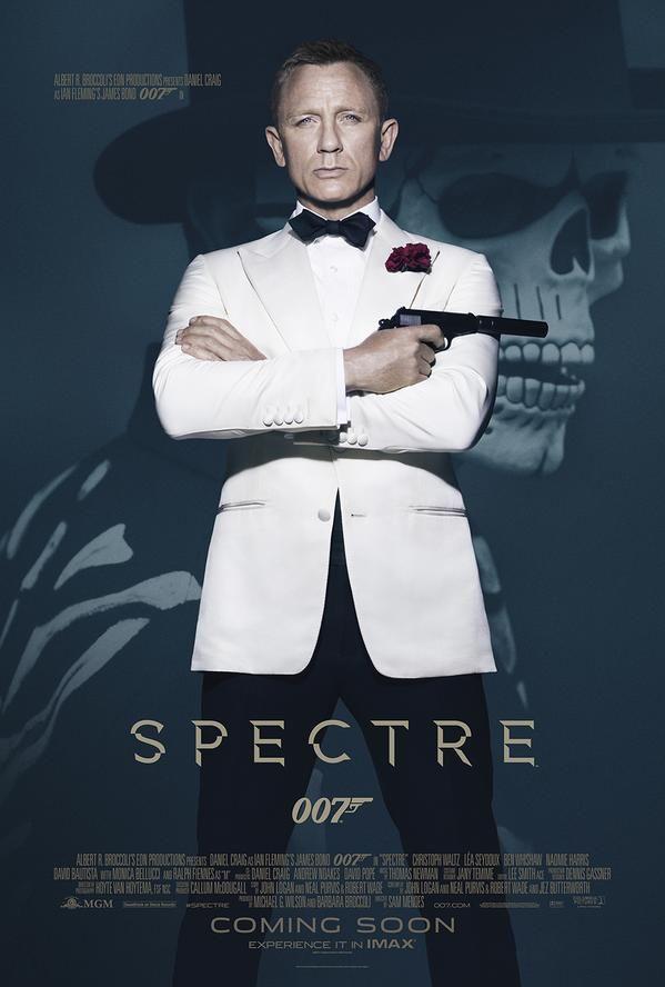 007 spectre couverture