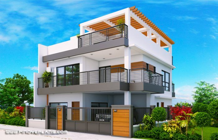 Arabella - Three Bedroom Modern Two Storey with Roof Deck ...