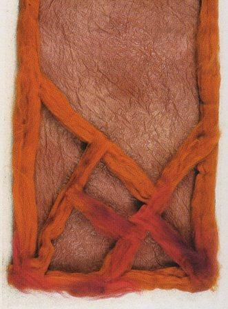 Voylokovalyanie.  Felted scarves.  Felt felting .Izdeliya of felt.  Valya felt