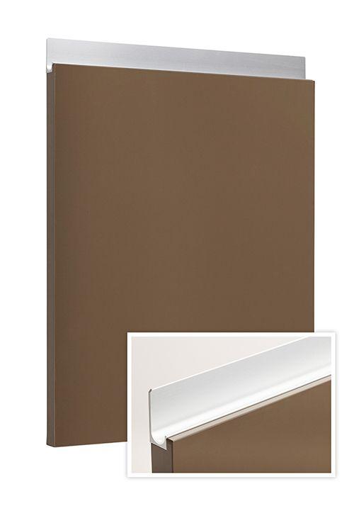 Modelo Ana tirador T 4016 plata color Strati 274. www.g10muebles.com