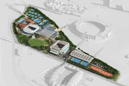 Melbourne Park Masterplan - Melbourne & Olympic Parks
