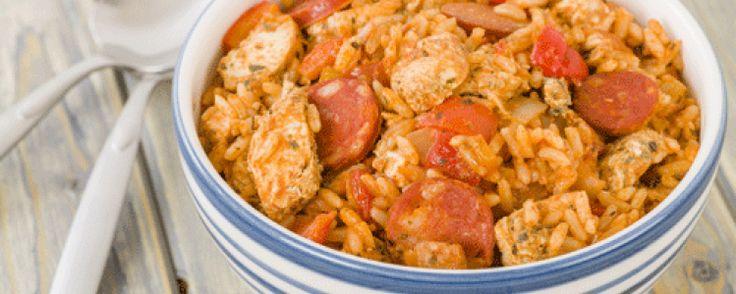 Risotto ou Jambalaya Chorizo et Poulet - Recettes Cookeo