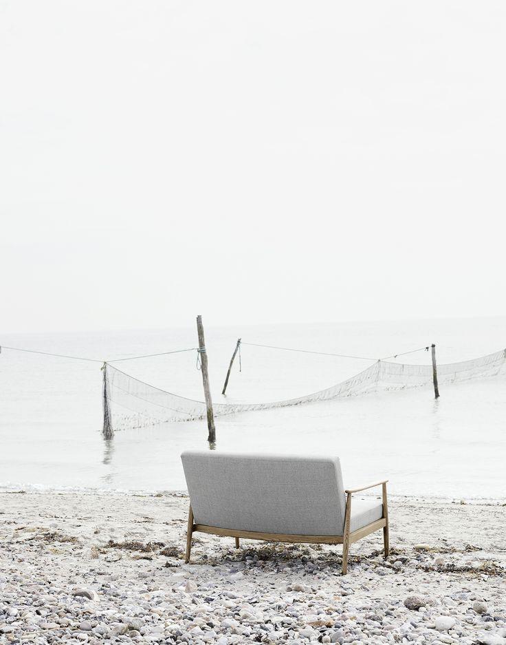 Valther, 2 seater, Vega sand dune #retro #sofacompany