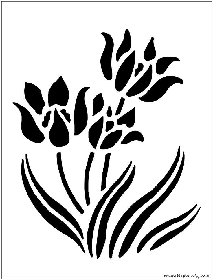 flowers Printable Stencils