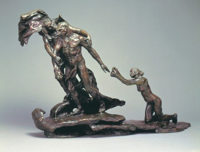 Камилла Клодель. *Эпоха зрелости*, 1900 – аллегория ее разрыва с Роденом. Фигура Умоляющей – автопортрет Камиллы