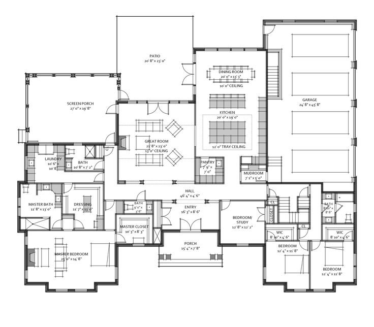 Custom house plan for a recent client 3 600 square for Custom house blueprints