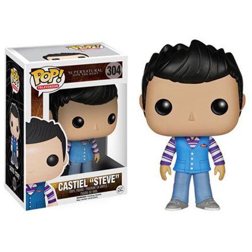 Supernatural Castiel Steve Pop! Vinyl Figure - Funko - Supernatural - Pop! Vinyl Figures at Entertainment Earth