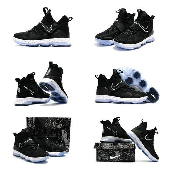 finest selection c08ae 7f405 Free Shipping Only 69  Nike Lebron 14 XIV Black Ice CHASE DOWN 921084-002