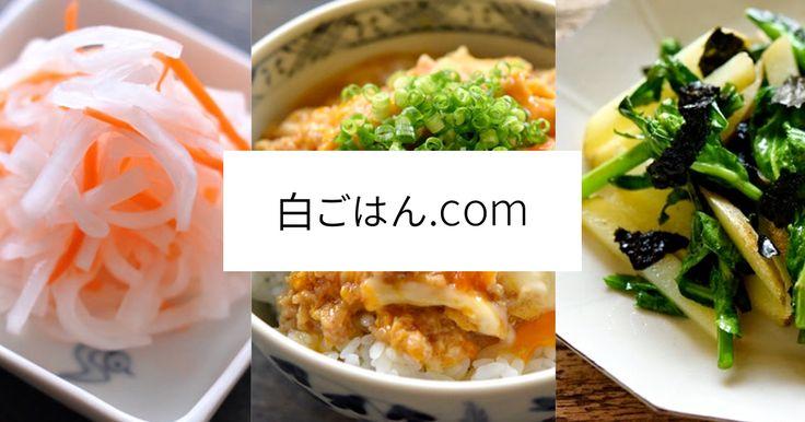 おもてなし料理のレシピから和食の基本(定番ごはん・おかず)の作り方まで紹介。いちばん丁寧な和食レシピサイトです。