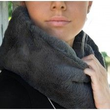Super Soft grey snood perfect for wintery days