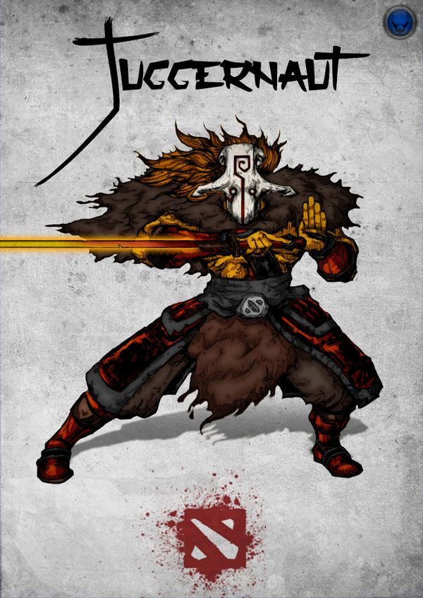 Chinese Style Dota 2 Hero - Juggernaut by xXKazeshiniXx.deviantart.com on @DeviantArt
