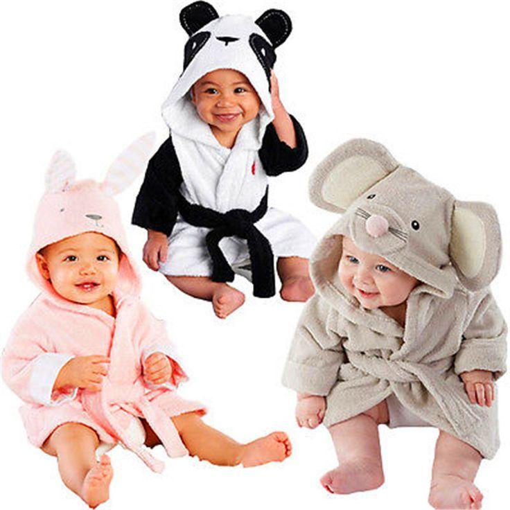 Bébé Garçon Fille Hiver Robes Vêtements d'enfants de bébé À Capuche Animal Panda Rabit Souris Manteau Bébé Peignoir de Dessin Animé infantile serviette de bain dans Peignoirs de Mère et Enfants sur AliExpress.com | Alibaba Group