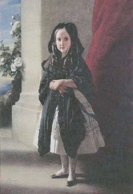 Four-year-old Princess Charlotte
