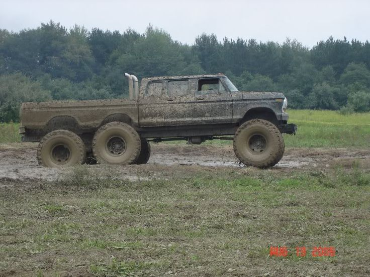 Lifted Trucks In Mud