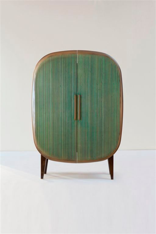 A Ralph Pucci free standing cabinet by Patrick Naggar Evolutions