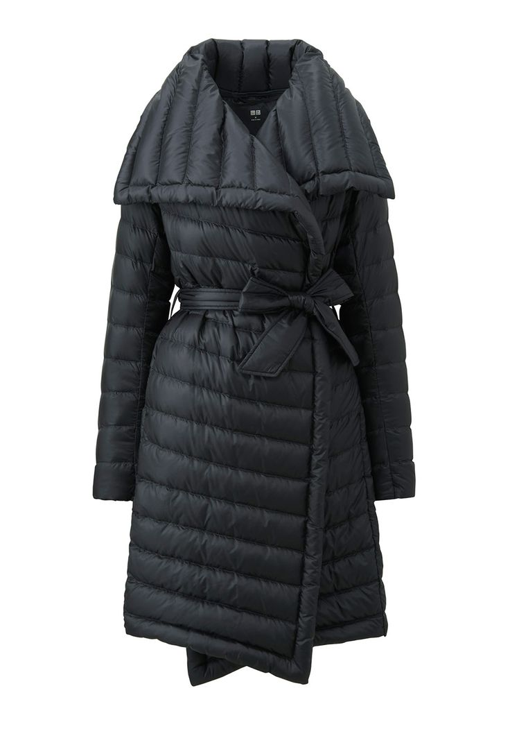 The Sleekest Puffer Around / www.uniqlo.com-- Ultra Light Down Wrap Coat