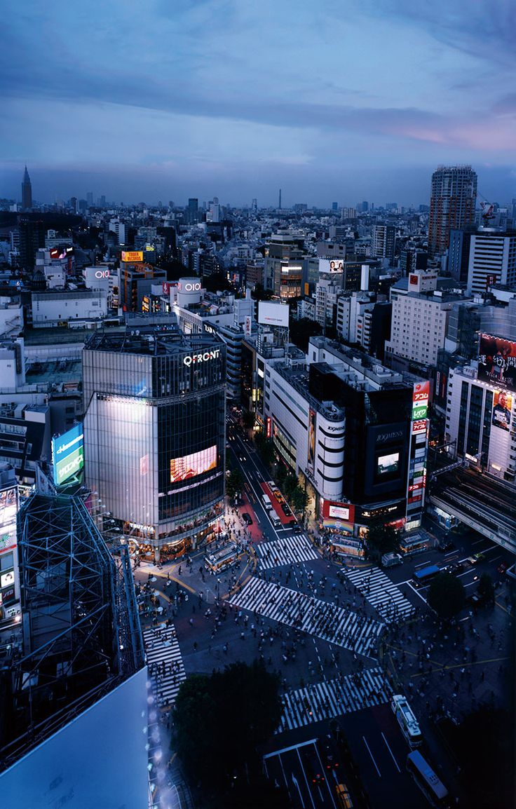 View the Shibuya scramble from above Shibuya Scramble Crossing - Shibuya Excel Hotel Tokyu