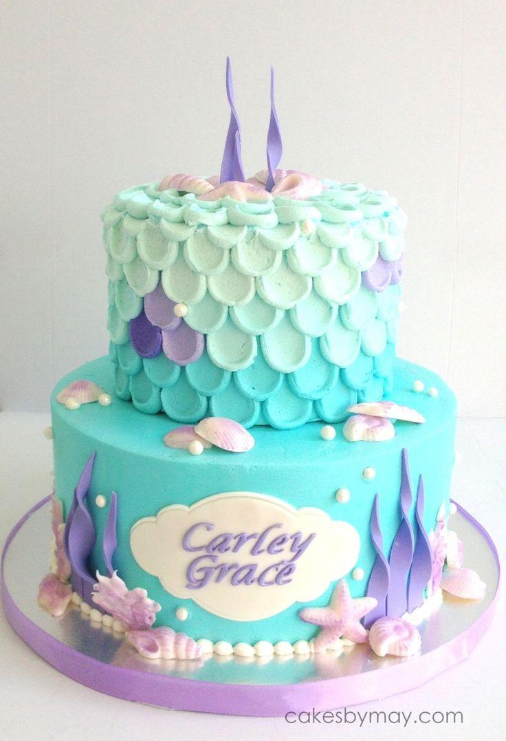 best 25  mermaid birthday cakes ideas on pinterest