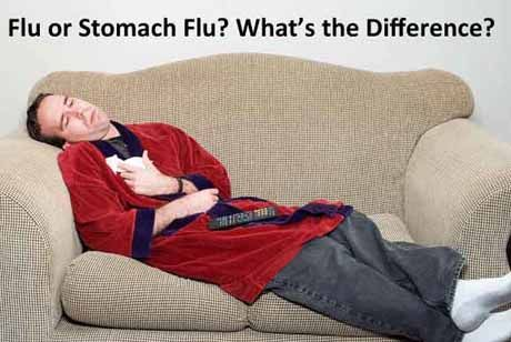 Flu or stomach flu