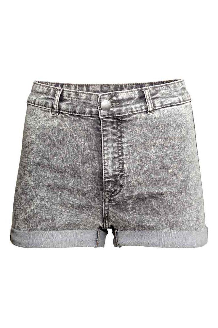 Shorts in twill a vita alta | H&M