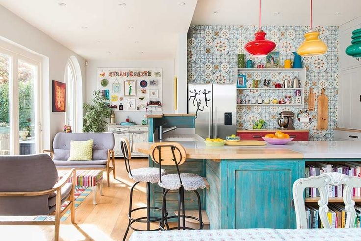 Real home: a colourful kitchen extension and whole house remodel
