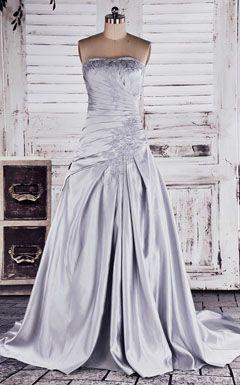 Silver Wedding Dress                                                                                                                                                                                 More