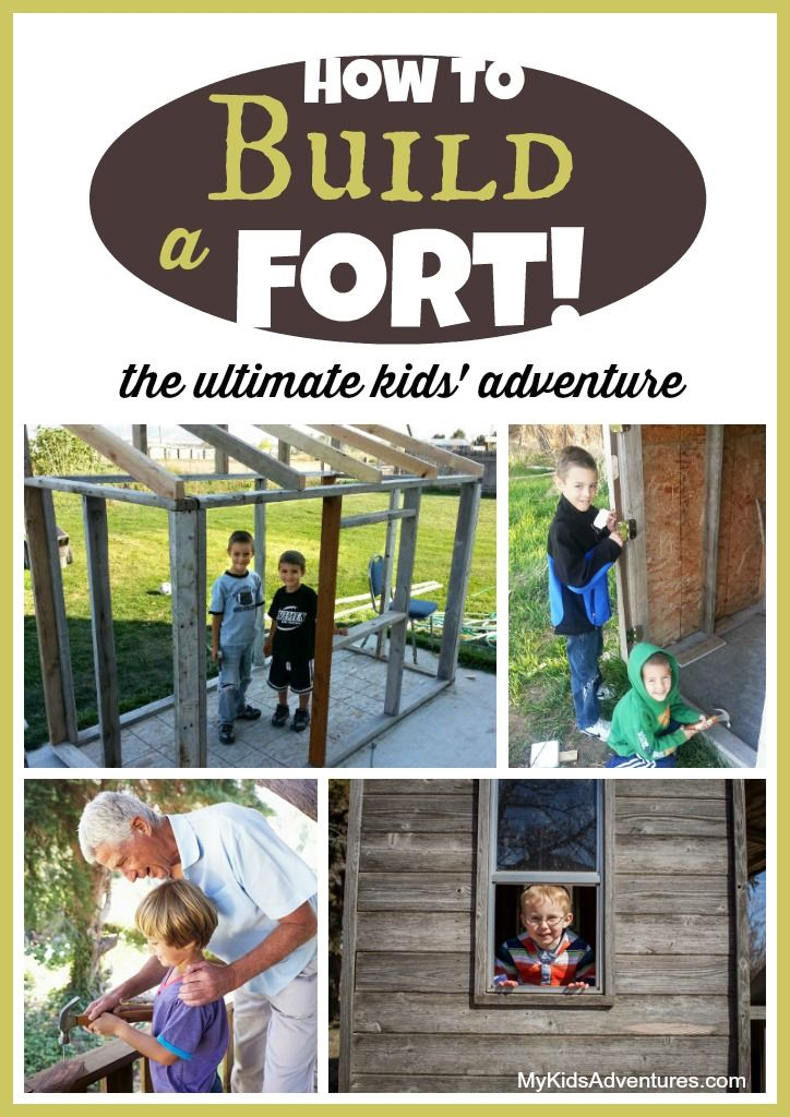 Outdoor Forts Plans - WoodWorking Projects & Plans