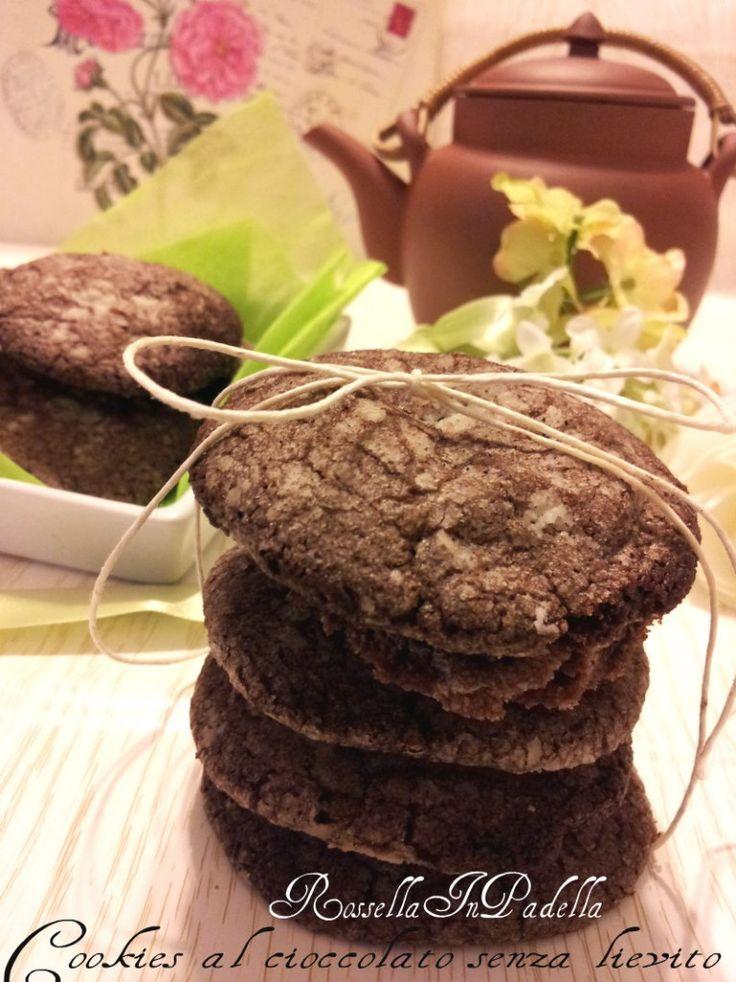 Cookies al cioccolato senza lievito